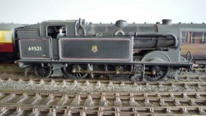 A Model of the N2 locomotive 69521 in BR livery