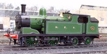 London Road Models NE Class O/G5 locomotive kit. - Photograph courtesy Steamline Sheffield