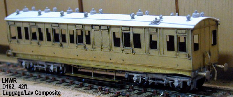 Lnwr Carriages London Road Models