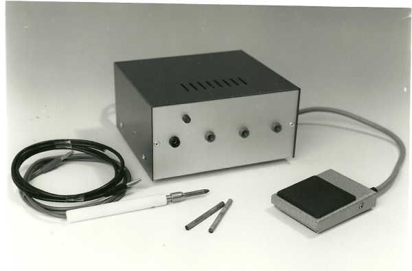 Resistance Soldering Unit and accessories